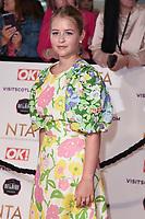 Isobel Steele<br /> arriving for the National Television Awards 2021, O2 Arena, London<br /> <br /> ©Ash Knotek  D3572  09/09/2021