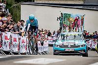 Jakob Fuglsang (DEN/Astana - Premier Tech)<br /> <br /> Stage 5 (ITT): Time Trial from Changé to Laval Espace Mayenne (27.2km)<br /> 108th Tour de France 2021 (2.UWT)<br /> <br /> ©kramon