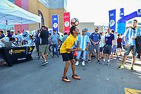 Foxborough, MA - Saturday June 18, 2016: Sprint, Sponsor prior to a Copa America Centenario quarterfinal match between Argentina (ARG) and Venezuela (VEN)  at Gillette Stadium.