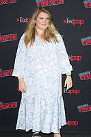 """NEW YORK CITY - OCTOBER 9:   Executive Producer, Showrunner and Writer Eliza Clark attends a 2021 New York Comic Con event for FX's """"Y: The Last Man"""" at the Javits Center on October 9, 2021 in New York City.  (Photo by Ben Hider/FX//PictureGroup)"""