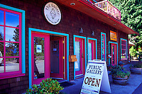 Bowen Island, BC, British Columbia, Canada - The Gallery at Artisan Square
