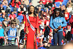 December 30, 2016: Miss AutoZone Liberty Bowl on stage at halftime of the AutoZone Liberty Bowl inside Liberty Bowl Memorial Stadium in Memphis, Tennessee. ©Justin Manning/Eclipse Sportswire/Cal Sport Media
