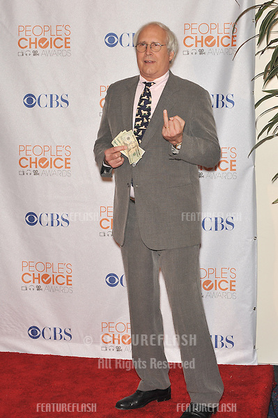 Chevy Chase at the 2010 People's Choice Awards at the Nokia Theatre L.A. Live in Los Angeles..January 6, 2010  Los Angeles, CA.Picture: Paul Smith / Featureflash