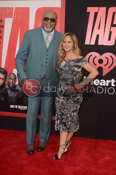 "Chi McBride<br /> at the ""Tag"" World Premiere, Village Theater, Westwood, CA 06-07-17<br /> David Edwards/DailyCeleb.com 818-249-4998"