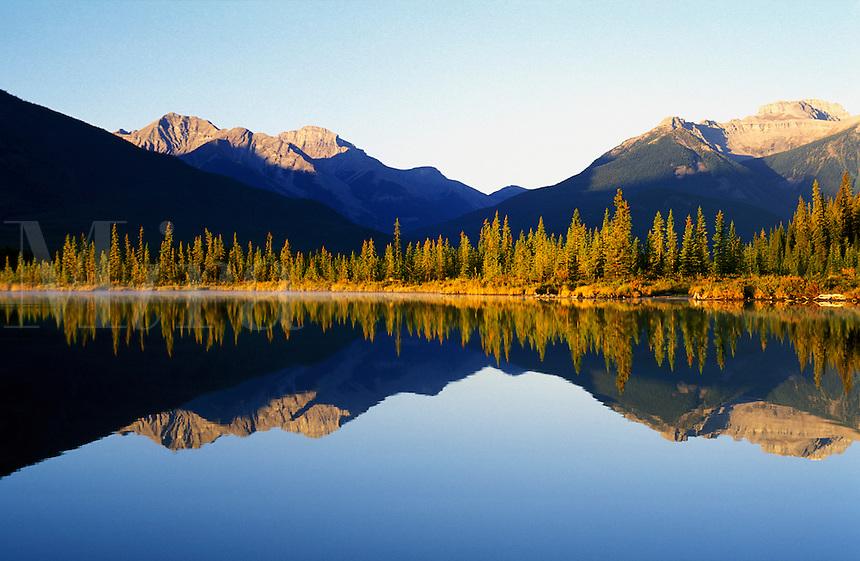 Canada,Alberta,Banff. Vermilion Lakes