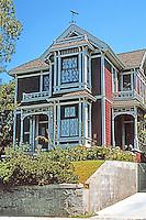 Los Angeles: Eastlake style house, 1329 Carroll Avenue, Angelino Heights, 1887-88. Photo '04.