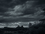 Stormy Eve in Castle Valley (Infrared)