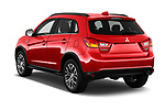 Car pictures of rear three quarter view of 2017 Mitsubishi Outlander-Sport GT 5 Door SUV Angular Rear
