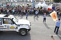 Dominique Serra Fondatrice et Directrice GÈnÈrale du Rallye - 27Ëme Èdition du Rallye 'Aicha des Gazelles' au dÈpart de la ville de Nice, le samedi 18 mars 2017. # DEPART DU RALLYE 'AICHA DES GAZELLES' A NICE