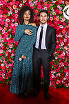 NEW YORK, NY - JUNE 10:  Indya Moore and Joseph Altuzarra attend the 72nd Annual Tony Awards at Radio City Music Hall on June 10, 2018 in New York City.  (Photo by Walter McBride/WireImage)