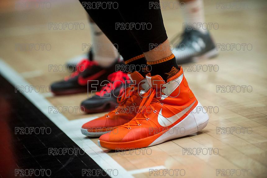 VALENCIA, SPAIN - NOVEMBER 18:  during EUROCUP match between Valencia Basket Club and CAI SLUC Nancy at Fonteta Stadium on November 18, 2015 in Valencia, Spain