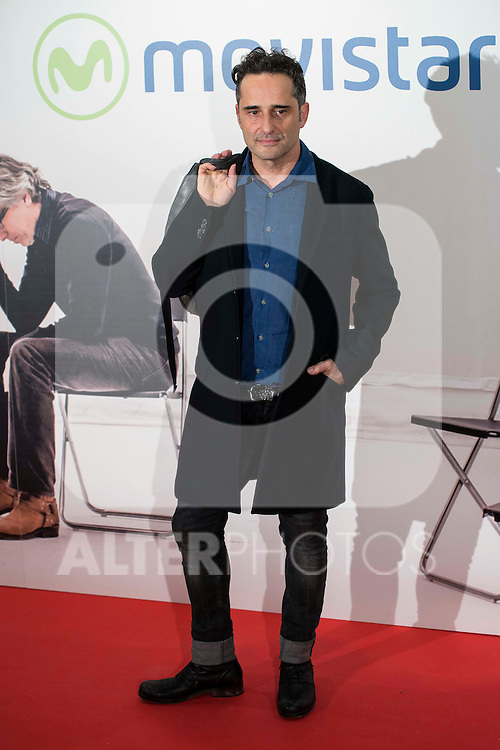 """Jorge Drexler attends to the premire of the film """"Que fue de Jorge Sanz"""" at Cinesa Proyecciones in Madrid. February 10, 2016."""