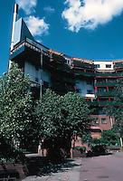 Ralph Erskine: Byker Redevelopment 1968-80. Newcastle. Photo '90.