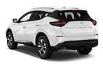 Car pictures of rear three quarter view of 2020 Nissan Murano SV 5 Door SUV Angular Rear