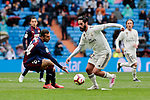 Real Madrid's Francisco Alarcon 'Isco' and SD Eibar's Joan Jordan during La Liga match between Real Madrid and SD Eibar at Santiago Bernabeu Stadium in Madrid, Spain.April 06, 2019. (ALTERPHOTOS/A. Perez Meca)