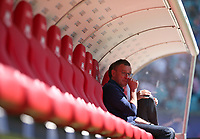 05.05.2018, Football 1. Bundesliga 2017/2018, 33.  match day, RB Leipzig - VfL Wolfsburg, in Red Bull Arena Leipzig. Sportchef Ralf Rangnick (RB Leipzig)  *** Local Caption *** © pixathlon<br /> <br /> Contact: +49-40-22 63 02 60 , info@pixathlon.de