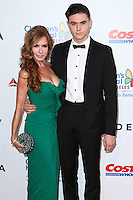 LOS ANGELES, CA, USA - OCTOBER 11: Tracey Bregman, Landon Recht arrive at the Children's Hospital Los Angeles' Gala Noche De Ninos 2014 held at the L.A. Live Event Deck on October 11, 2014 in Los Angeles, California, United States. (Photo by Xavier Collin/Celebrity Monitor)
