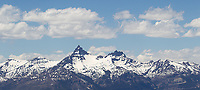 Pilot and Index Peaks, as seen from the Beartooth Highway.