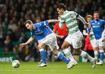 Celtic v St Johnstone.....04.03.15<br /> Steven MacLean and Virgil Van Dijk<br /> Picture by Graeme Hart.<br /> Copyright Perthshire Picture Agency<br /> Tel: 01738 623350  Mobile: 07990 594431