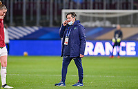Swiss head coach Nils Nielsen pictured ahead of the Womens International Friendly game between France and Switzerland at Stade Saint-Symphorien in Longeville-lès-Metz, France.
