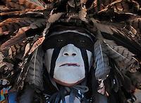 A dancer at the Julymish Pow Wow, Idaho.