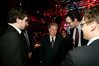 Montreal (Qc) CANADA - file photo-Nove 23, 2006- <br /> Jean Charest , Quebec Premier (L), Lise Thibault, Lieutenant Governor of Quebec  (R) .<br /> <br /> Charest was elected for the first time  April 14 2003, he is seeking a 3rd term in the  Quebec provincial election which will be held Dec 14, 2008.<br /> <br /> Lise Thibault (born April 2, 1939) is a Canadian civil servant who was appointed Lieutenant Governor of Quebec on January 30, 1997. As a former Vice-Regal representative of Elizabeth II, as Queen in Right of Quebec, she is styled The Honourable for life.<br /> <br /> Prime Minister Jean ChrÈtien, the Governor General appointed her Lieutenant-Governor of Quebec, following the resignation of Jean-Louis Roux. She became Quebec's first female viceroy, and the first disabled lieutenant governor in Canada; Thibault was permanently disabled in a tobogganing accident as a teenager, and uses a wheelchair. In February 2005 Madame Thibault suffered a stroke.<br /> <br /> She is one of the longest serving lieutenant governors in Canadian history, having served for over ten years. In 2007, she was accused of spending beyond the limits of her expense account. Prime Minister Stephen Harper announced that he would recommend the appointment of a new Lieutenant Governor after the provincial election; it was said by the Prime Minister's Office that the decision to replace Thibault had nothing to do with her spending. The appointment of her successor, Pierre Duchesne, was announced on May 18, 2007.<br /> Questions on her spending continued after her departure, with federal and provincial auditors general pointing to $700,000 in unjustified expenses (CBC). The files were turned over to the SuretÈ du QuÈbec (SQ) and Royal Canadian Mounted Police (RCMP) for investigation.<br /> <br /> Photo (c)  Images Distribution