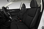 Front seat view of 2017 Nissan Rogue S 5 Door SUV Front Seat  car photos