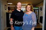 """Margaret and Eddie Canty of The Lixnaw Chipper which was awarded """"The Best Little Chipper"""" in Munster,"""