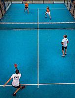 Netherlands, September 5,  2020, Amsterdam, Padel Dam, NK Padel, National Padel Championships, Mens Doubles: <br /> Photo: Henk Koster/tennisimages.com