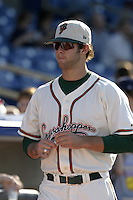 Greensboro Grasshoppers Aaron Thompson during the South Atlantic League All-Star game at Classic Park on June 20, 2006 in Eastlake, Ohio.  (Mike Janes/Four Seam Images)