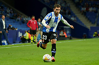 22nd September 2021: RCDE Stadium, Barcelona, Spain: La Liga Football, Espanyol versus Atletico Madrid;  Embarba breaks forward on the ball