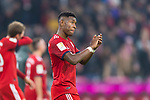 03.11.2018, Allianz Arena, Muenchen, GER, 1.FBL,  FC Bayern Muenchen vs. SC Freiburg, DFL regulations prohibit any use of photographs as image sequences and/or quasi-video, im Bild David Alaba (FCB #27) enttaeuscht<br /> <br />  Foto © nordphoto / Straubmeier