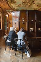 Europe/Pologne/Lodz: Musée d'Art Cinématographique situé dans le Palais de l'industriel Charles Scheibler - les premières visionneuses de films