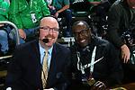 11D22ENTON, TX - MARCH 1: North Texas Mean Green Men's Basketball v Western Kentucky University at Super Pit - North Texas Coliseum on March 1, 2020 in Denton, Texas.