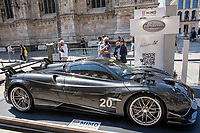 Pagani Roadster BC - MILANO, ITALY, the Milan Monza Motor Show, from 10th to 13th June 2021 in Milan and Monza and will present the news of the 60 participating car and motorcycle manufacturers. With a democratic format, in which brands will exhibit their cars on equal stands, MIMO wants to give a restart signal for the world of fair and the automotive sector, with a free access and safe exhibition.