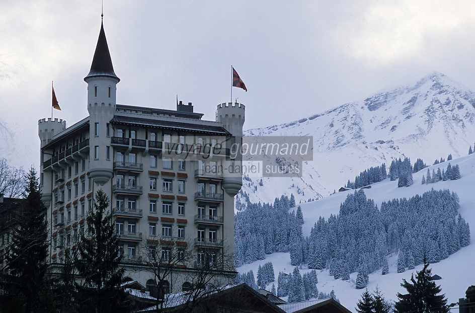 Europe/Suisse/Saanenlang/Gstaad: l'Hotel Palace