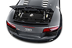 2014 Audi R8 Spyder Convertible Engine View