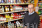 Dan Joe Nagle of the Carry Out Off Licence in Tralee on Tuesday.