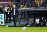 3rd June 2021; Estadio Único de Santiago del Estero, Santiago del Estero, Argentina; Qatar 2022 qualifiers; Argentina versus Chile; Chile manager Martín Lasarte