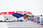 Sochi, RUSSIA - Mar 14 2014 - Mark Arendz competes in the Men's 15km - Standing at the 2014 Paralympic Winter Games in Sochi, Russia.  (Photo: Matthew Murnaghan/Canadian Paralympic Committee)