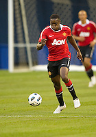 July 16, 2010 Danny Welbeck No. 19 of Manchester United during an international friendly between Manchester United and Celtic FC at the Rogers Centre in Toronto.