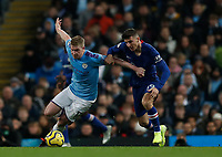 Kevin De Bruyne of Manchester City and Mason Mount of Chelsea during the Premier League match at the Etihad Stadium, Manchester. Picture date: 23rd November 2019. Picture credit should read: Darren Staples/Sportimage PUBLICATIONxNOTxINxUK SPI-0317-0036<br /> Foto Imago/Insidefoto <br /> ITALY ONLY