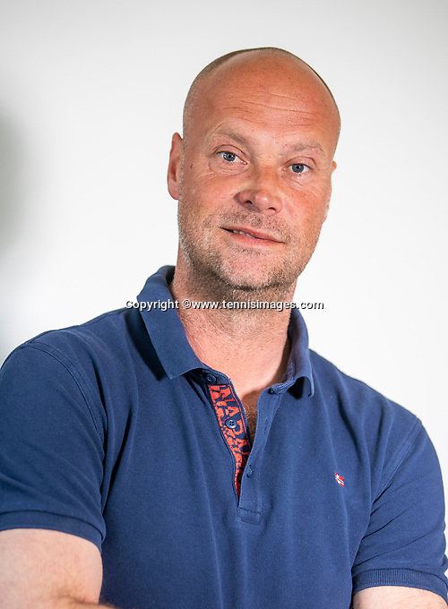 Oud Beijerland, Netherlands, April 23, 2021,  Tennis coach and former player Martin Verkerk (NED)<br /> Photo: Tennisimages/Henk Koster