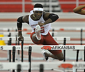 Arkansas vs Texas dual Indoor track meet