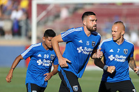Stanford, CA - Saturday June 30, 2018: Jimmy Ockford prior to a Major League Soccer (MLS) match between the San Jose Earthquakes and the LA Galaxy at Stanford Stadium.