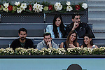 Andy Murray from USA V Milos Raonic in Madrid, Spain. May 08, 2015. (ALTERPHOTOS/Victor Blanco)
