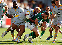 5th June 2021; Brentford Community Stadium, London, England; Gallagher Premiership Rugby, London Irish versus Wasps; Sione Vailanu of Wasps tackles James Stokes of London Irish