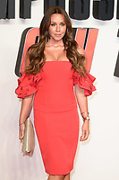 """Michelle Heaton<br /> arriving for the """"Mission: Impossible Fallout"""" premiere at the BFI IMAX South Bank, London<br /> <br /> ©Ash Knotek  D3414  13/07/2018"""
