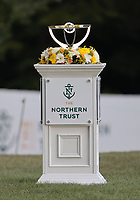 23rd August 2020, Boston, MA, USA;  The Northern Trust trophy on display  during the final round of The Northern Trust  at TPC Boston in Norton, Massachusetts.