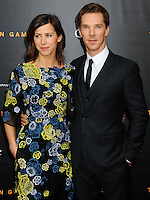 NEW YORK CITY, NY, USA - NOVEMBER 17: Sophie Hunter, Benedict Cumberbatch arrive at the New York Premiere Of The Weinstein Company's 'The Imitation Game' held at the Ziegfeld Theatre on November 17, 2014 in New York City, New York, United States. (Photo by Celebrity Monitor)